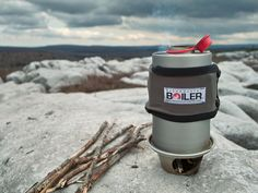 Backcountry Boiler: Hot water from found fuel by Devin Montgomery, via Kickstarter.