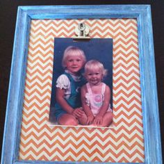 ever changing picture frame w/old school pic of leah & i