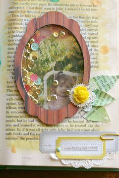 Happy Little Moments (confetti frame window)- Veronica Milan