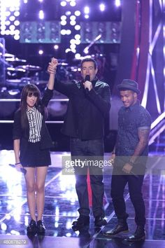 THE VOICE 'Battle Rounds' Episode 610 Pictured Christina Grimmie Carson Daly Joshua Howard