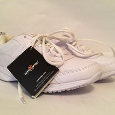 For Sale: White Safety Non Slip Shoe for $8