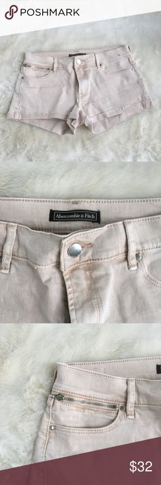 Light Pink Jean Shorts Used Once Abercrombie & Fitch Shorts Jean Shorts