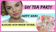 DIY Tea Party + Makeup & Outfit Idea⎟Allie Evans