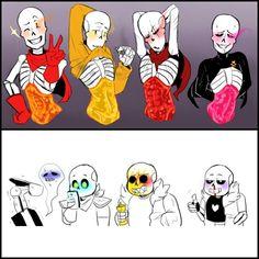 Read from the story Traducción de Comics Fontcest♡ by Aqua_Space (Aqua_Spaceous) with reads. Undertale Comic, Undertale Love, Undertale Drawings, Undertale Ships, Undertale Fanart, Undertale Puns, Underswap Papyrus, Dibujos Dark, Undertale Pictures