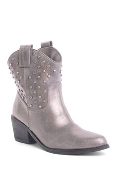 Go Max Cowboy Short Studded Boot by Non Specific on @HauteLook