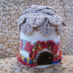 Crochet English Country Cottage by girlybunches on Etsy, $45.00