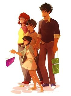 Potter family by anxiouspineapples. That's not Harry and Ginny,that's Lilly and James,if they'd survived.