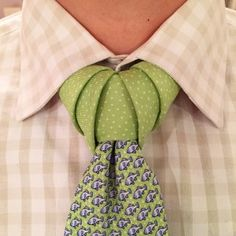 Vidalia necktie knot how to video