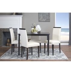Update your dining area with the Baxton Studio Milano cream Modern Dining Chairs. You will be proud to show these chairs off in your home. Set of 2 for $132.99