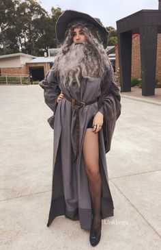 Sexy gandalf costume inspiration.... I laughed SO flipping hard at this! Too funny.