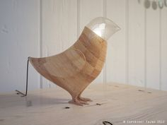 Marina's Birds — A collection of ceiling and tabletop lamps in the form of birds from fajnodesign