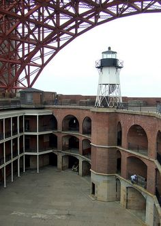 Fort Point under the Golden Gate | Flickr - Photo Sharing!