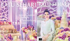Ratu Sehari Edisi  Tampil Berlainan Bersama Double Cover Majalah Ratu Sehari Mempersembahkan Karya