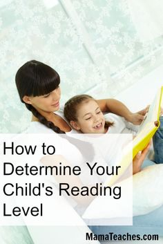 Worried that your child might not be reading books on the right level? Learn How to Determine Your Child's Reading Level using these simple tips.