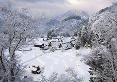 Villages-8 Gokayama, Japon