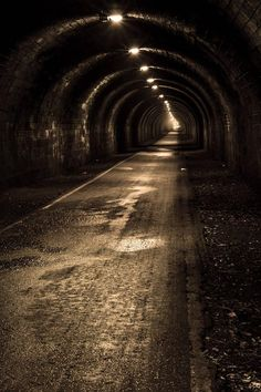 The Innocent Railway Tunnel, Edinburgh, Scotland