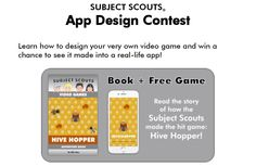Show your kiddos! Let's use video games to get them reading & creating their own video games. They can win a chance to see their ideas come to life in a real app!