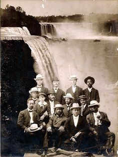 In 1905, a group of 32 prominent, outspoken African Americans under the leadership of Harvard scholar W.E.B. Du Bois, at a hotel situated on the Canadian side of Niagara Falls. As a result, the group came to be known as the Niagara Movement, the predecesssor of the National Association For the Advancement of Colored People (NAACP).