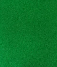 Bright Green Felt Fabric - $5.6 | onlinefabricstore.net This reminds me of the very first family craft project - My mother bought felt for my brother and me to make Christmas ornaments. It was hours of fun.  I still have some of those ornaments.....