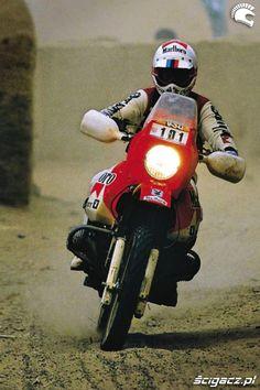 Gaston Rahier Bmw R80 GS- Paris Dakar 1985