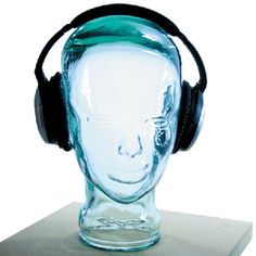AMP3 Luxury Glass Head Headphones Stand Colour Stand and deliver Well stand but not deliver -youll need to train your dog to do that bit! The AMP3 Luxury Glass Head Headphones Stand is a stylish headphone stand which will stop you losing your head http://www.MightGet.com/january-2017-12/amp3-luxury-glass-head-headphones-stand-colour.asp
