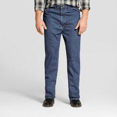 Dickies - Men's Big & Tall Regular Straight Fit Denim 5-Pocket Jeans