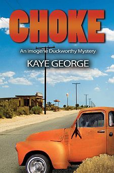 """Choke by Kaye George: """"Just got word that it's nominated for an Agatha Award for Best First Novel of First Novel, Cozy Mysteries, Mystery Books, Family Events, Book Authors, Great Books, Book 1, Detective, Novels"""