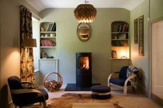 Designer of Cornwall house on Grand Designs Tom Raffield amazed at huge response after TV show Cornwall House, Grand Designs Magazine, Tom Raffield, Autumn Interior, Log Burner, Amazing Spaces, Wooden House, Furniture Design, Contemporary