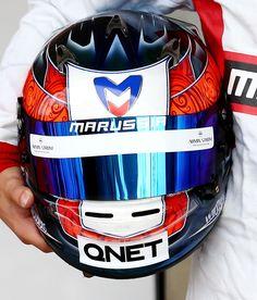 Stevens Marussia 2014 helmet
