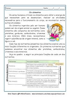 Portal Escola Atividades De Ciencias Alimentacao Piramide