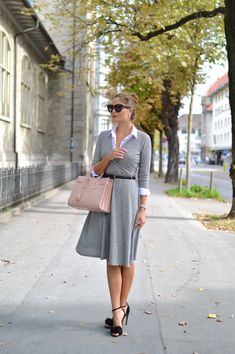 button down shirt with wrap dress