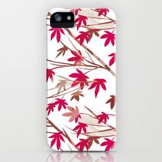 Maple Ornament iPhone & iPod Case by patterndesign - $35.00