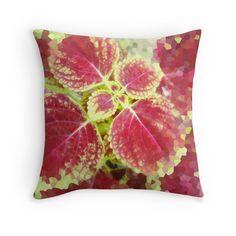 'Florals red glass art' Throw Pillow by sellgreengroup Red Glass, Glass Art, Cushion Cover Designs, Florals, Cushions, Throw Pillows, Floral, Toss Pillows, Toss Pillows