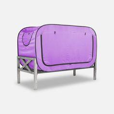 The Bed Tent Lavender Bedroom Furniture Sets, Bedroom Sets, Bedrooms, Bedding Sets, Furniture Ideas, Floor Bed Frame, Futon Bed, Bed Tent, Bed Springs