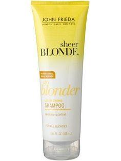John Frieda Sheer Blonde Go Blonder Lightening Shampoo 250 ml hakkında kapsamlı bilgilere bu sayfadan ulaşarak bilgi sahibi olabilirsiniz.