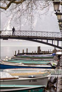 Pont des Amours - Lovers Bridge, Lake Annecy, France