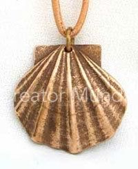 scallop shell of st james the greater