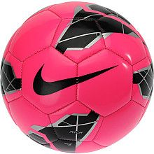 NIKE Pitch #Soccer Ball-i've always wanted a pink soccer ball since i was little..nothing has changed haha :P