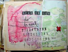 my (not so) white space: SODAlicious art journal challenge # 41