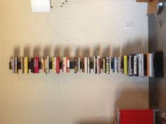 Our own marketing director @Michael Taeckens' new bookshelf. I need one of these pronto!