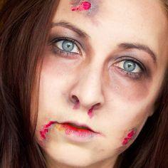 Halloween tutorial - Zombie (+ GIVEAWAY) Halloween Tutorial, Giveaway, Makeup Looks, Hair Makeup, Inspiration, Biblical Inspiration, Party Hairstyles, Make Up Looks, Inspirational