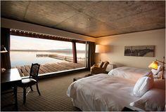THE SINGULAR HOTEL | PATAGONIA | - Cool idea for house in Manhattan Beach.