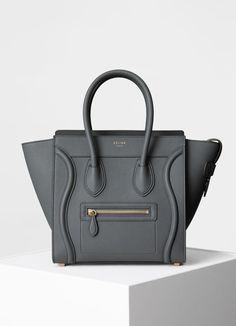 4efaca2cef9 Micro Luggage handbag in baby drummed calfskin