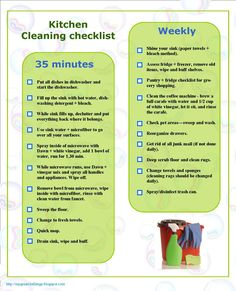 My Great Challenge: Speed cleaning the Kitchenhow to speed clean kitchen - checklist Speed Cleaning, House Cleaning Tips, Spring Cleaning, Cleaning Hacks, Zone Cleaning, Norwex Cleaning, Cleaning Products, Cleaning Supplies, Clean Kitchen Cabinets