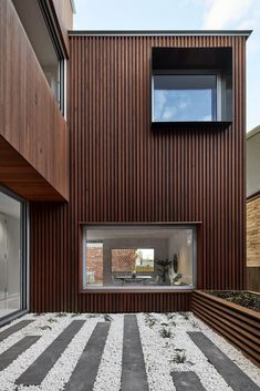 Luxury townhouse residences, No Two The Same by Melbourne Design Studios, Richmond, VIC Australian Architecture, Modern Architecture House, Victorian Architecture, Residential Architecture, Architecture Design, Australian Homes, Building Exterior, Building Design, Row House Design