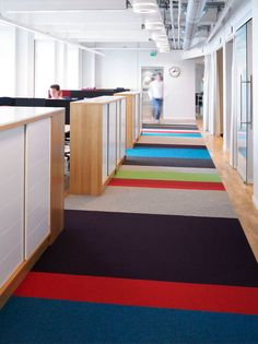 Business relocation firm Nextport has a comfortable and colorful office located in Stockholm.