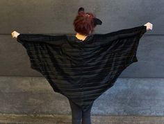 Tips till Halloween, sy fladdermusvingar!   Tygbloggen