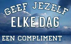 SpiegelGedachte: Geef jezelf een compliment