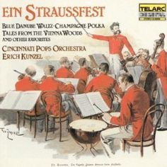 Made in 1985 Ein Straussfest with Erich Kunzel and Cincinnati Pops Orchestra CD Symphony http://www.bonanza.com/listings/143307891