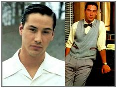 Keanu Reeves' Style Evolution, From Grunge Heartthrob To Ageless Wonder Keanu Charles Reeves, Keanu Reeves, Mtv Movie Awards, Film Awards, Star Cafe, The Devil's Advocate, Clean Shaven, Denzel Washington